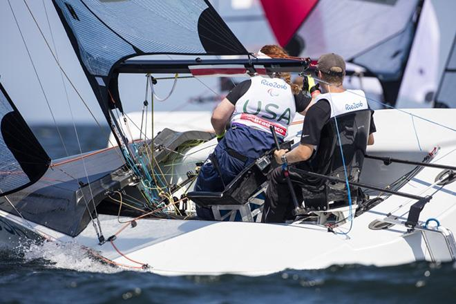 Porteous and McKinnon, SKUD-18 class - 2016 Rio Paralympic Games ©  Richard Langdon http://www.oceanimages.co.uk