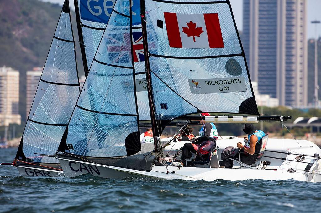 SKUD 18 - 2016 Paralympics - Day 6, September 18, 2016 photo copyright Richard Langdon / World Sailing taken at  and featuring the  class