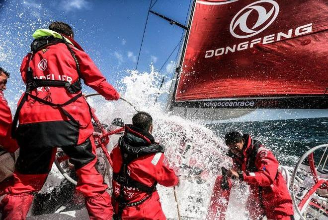 China back in the Volvo Ocean Race with Charles Caudrelier as skipper © Yann Riou / Dongfeng Race Team /Volvo Ocean Race