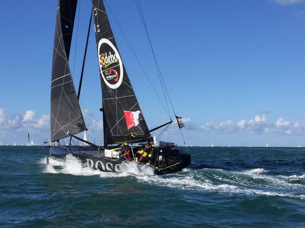 Vendée Globe - Skippers tell of tiring first day matching ra
