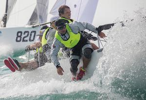 2016 Melges 24 World Championship - Miami - Day 2 photo copyright Bombarda Racing - Carlo Borlenghi taken at  and featuring the  class
