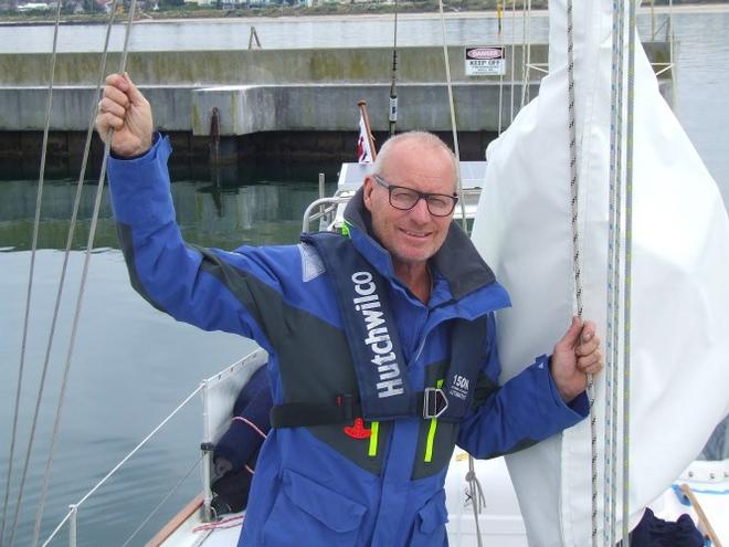 Shane Freeman preparing to set sail © Freeman Sailing