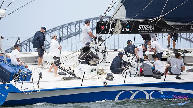 Watch Captain Rodney Keenan at the helm of CQS  - CQS Media Launch © Beth Morley - Sport Sailing Photography http://www.sportsailingphotography.com