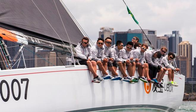 UBOX-Dongfeng Race Team gears up for Rolex Sydney Hobart Yacht Race © Andrea Francolini /Ubox-Dongfeng Race Team