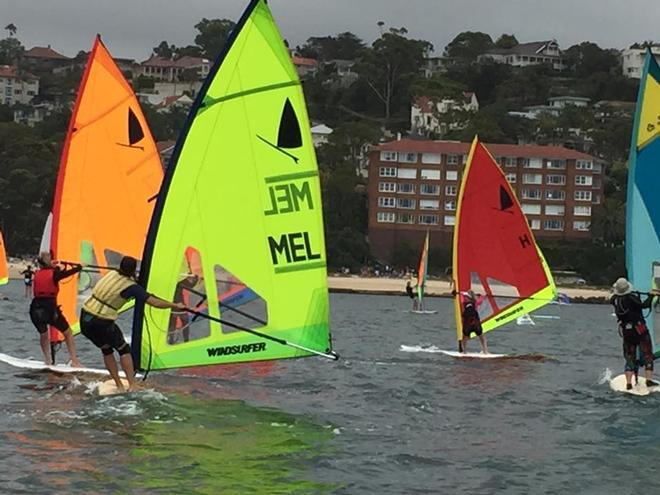 Slalom action - 40th Anniversary Windsurfer One Design Class National Championships © Windsurfer Class Association of Australia