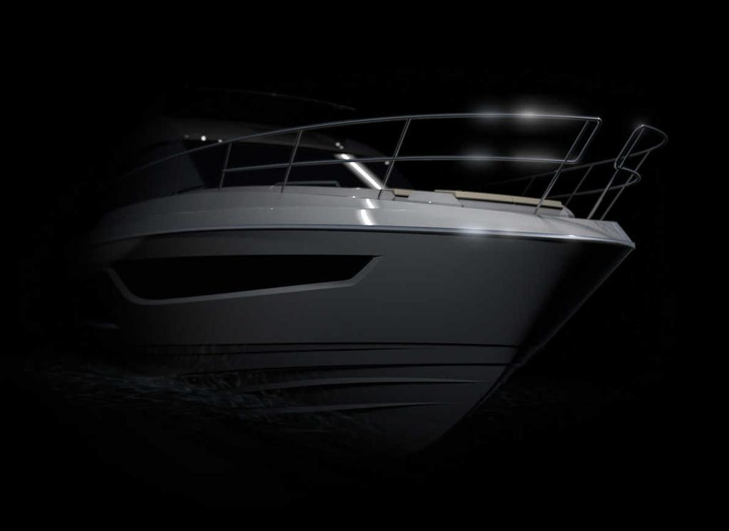 Bow of the the soon to be released Bavaria R55 © Bavaria Yachtbau