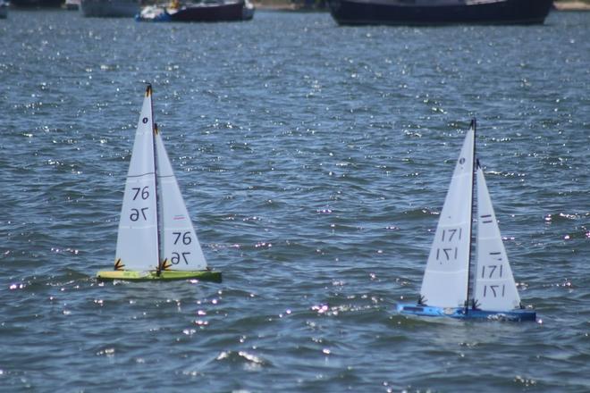 Radio Controlled sailing - Ian Vickers wins Australian IOM