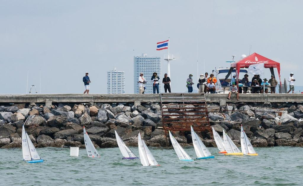 RC fleet. Top of the Gulf Regatta 2017 © Guy Nowell/ Top of the Gulf Regatta