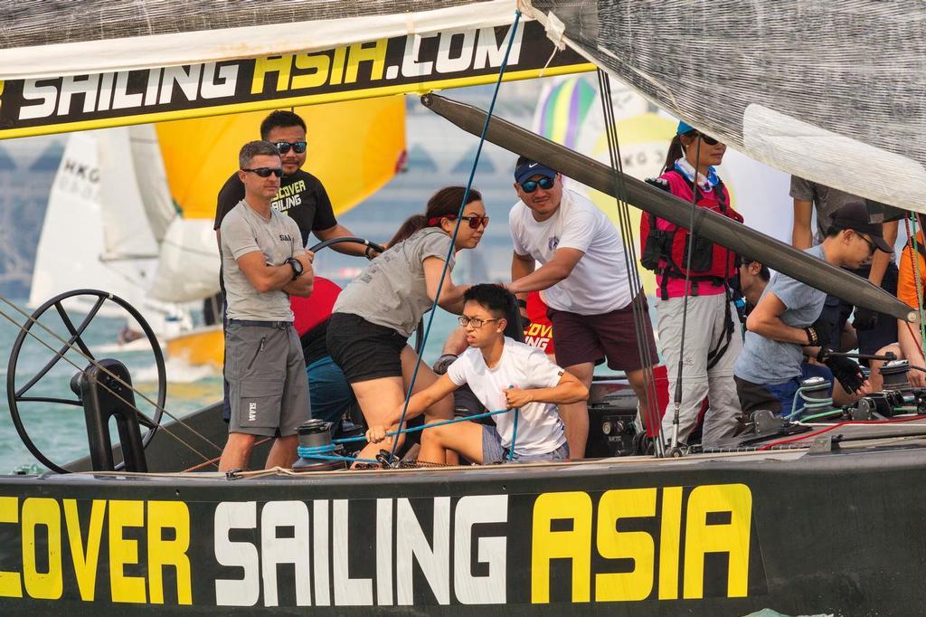 Discover Sailing Asia. RHKYC Tomes Cup 2017. - photo ©  RHKYC/Guy Nowell http://www.guynowell.com/