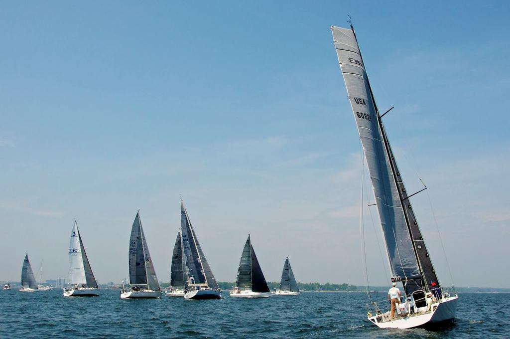 Block Island Race start photo copyright Storm Trysail Club taken at  and featuring the  class