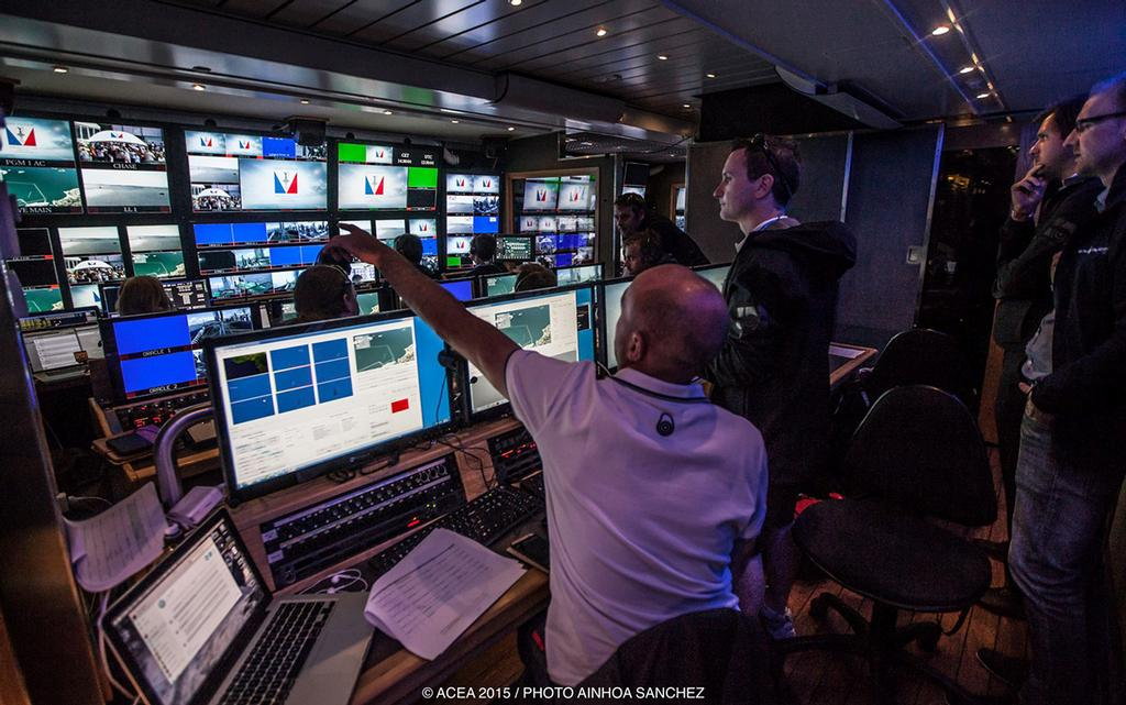 AC LiveLine – Emmy Award-Winning Graphics Package – Returns for NBC Sports Group's 2017 America's Cup Coverage - photo © Ainhoa Sanchez