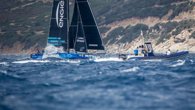 Day 1 – GC32 Villasimius Cup © Jesus Renedo / GC32 Racing Tour