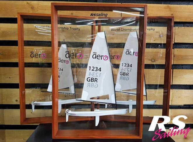 RS Aero World Championship trophies © RS Sailing http://www.rssailing.com