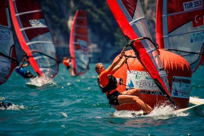 RS:X Youth Windsurfing World Championship – Practice race © Elena Giolai