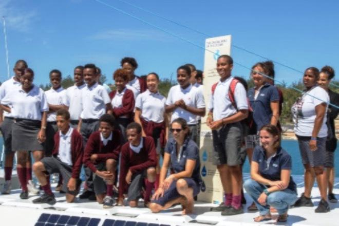 Race for Water hosts first JPI Oceans scientists in Bermuda © Race for Water Foundation