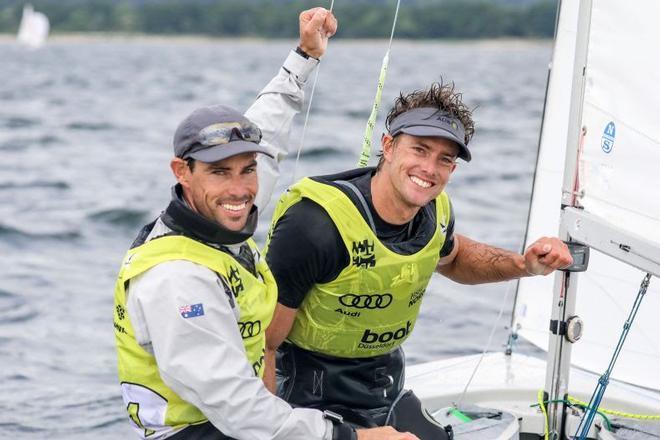 Mathew Belcher and Will Ryan 470er class - Kiel Week ©  Kieler Woche / segel-bilder.de
