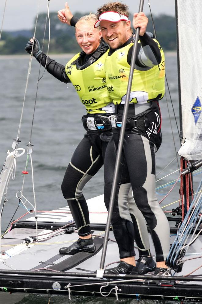 Thomas Zajac and Barbara Matz Nacra17 class - Kiel Week ©  Kieler Woche / segel-bilder.de