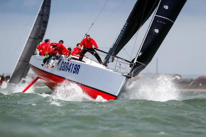 Scoring three bullets on the first day of racing in the IRC National Championship, Ed Fishwick's Sun Fast 3600 was star performer © Paul Wyeth / www.pwpictures.com http://www.pwpictures.com