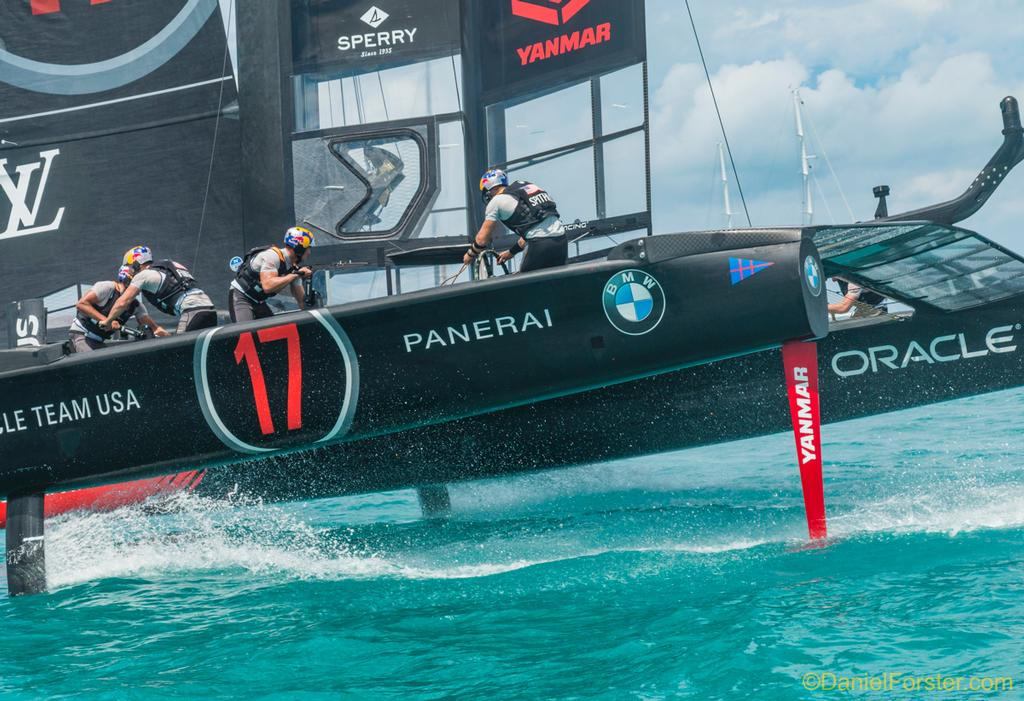 Oracle Team USA<br /> <br /> Day  5<br /> 2017 35th America's Cup Bermuda  © Daniel Forster http://www.DanielForster.com