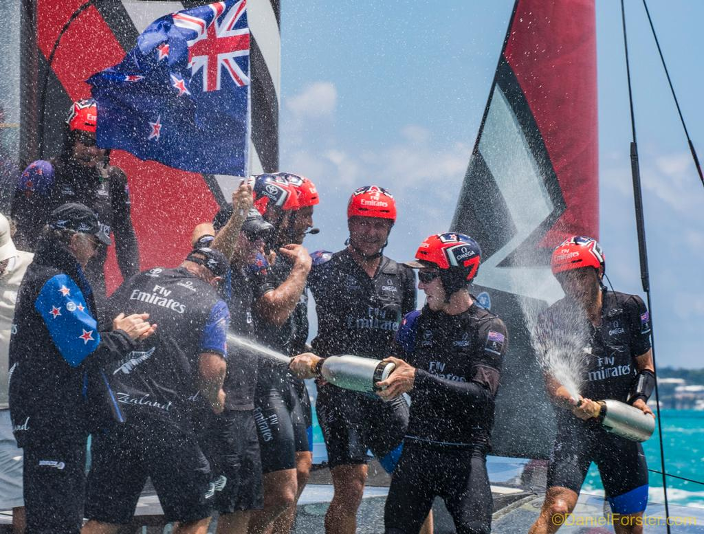 Emirates Team New Zealand<br /> <br /> Day  5<br /> 2017 35th America's Cup Bermuda  © Daniel Forster http://www.DanielForster.com