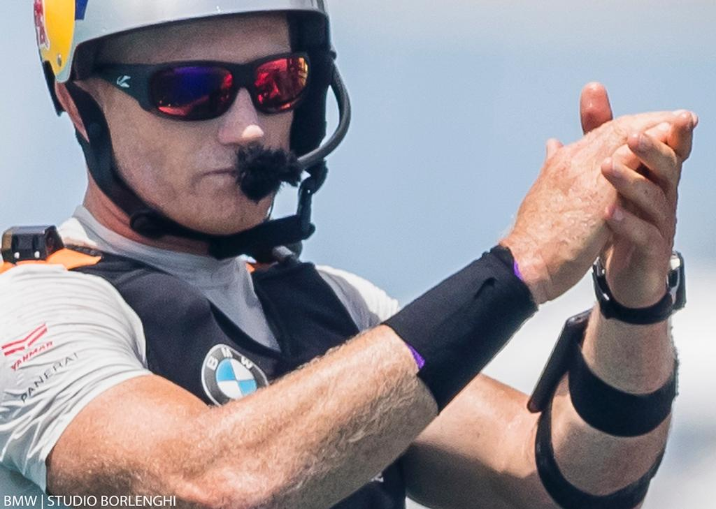 9b3bd4ac449 America s Cup Match - Oracle Team USA - Jimmy Spithill BMW