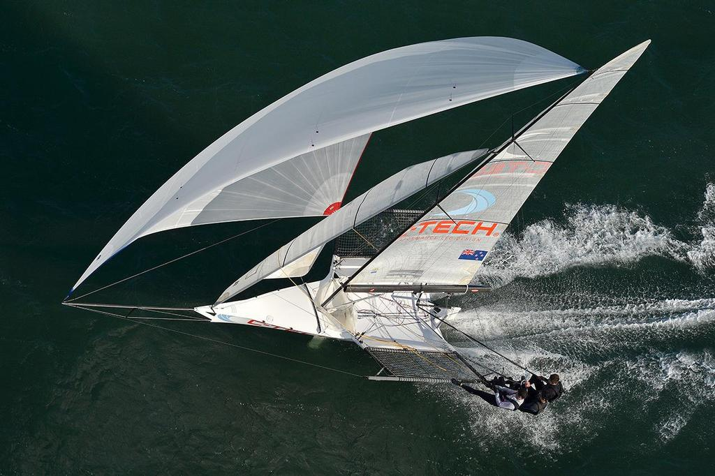 C-Tech 18ft Skiff is a top competitor on the international and national circuits  © C-TECH http://www.c-tech.co.nz