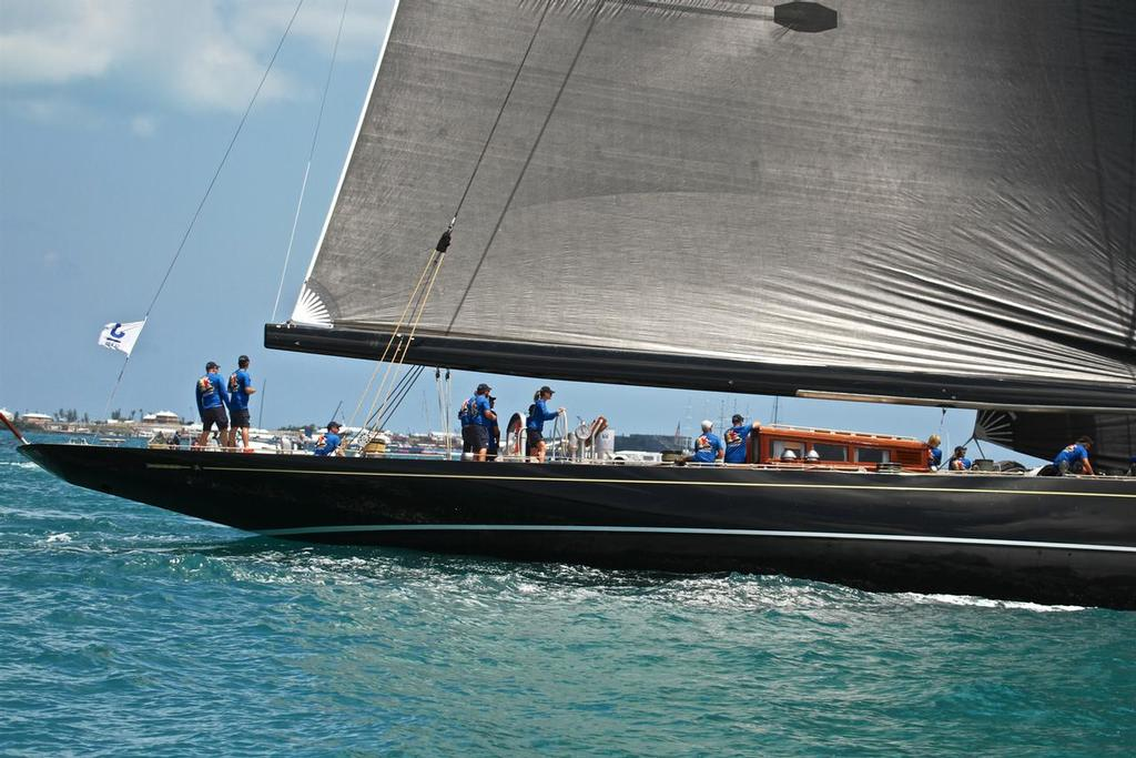 Hanuman - J- Class Regatta - 35th America's Cup - Bermuda  June 17, 2017 © Richard Gladwell www.photosport.co.nz