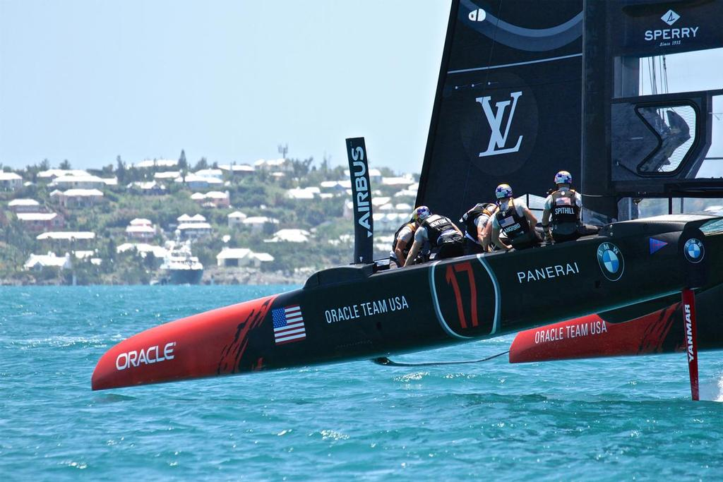 Oracle Team USA - 35th America's Cup Match - Race 3 - Bermuda  June 18, 2017 © Richard Gladwell www.photosport.co.nz