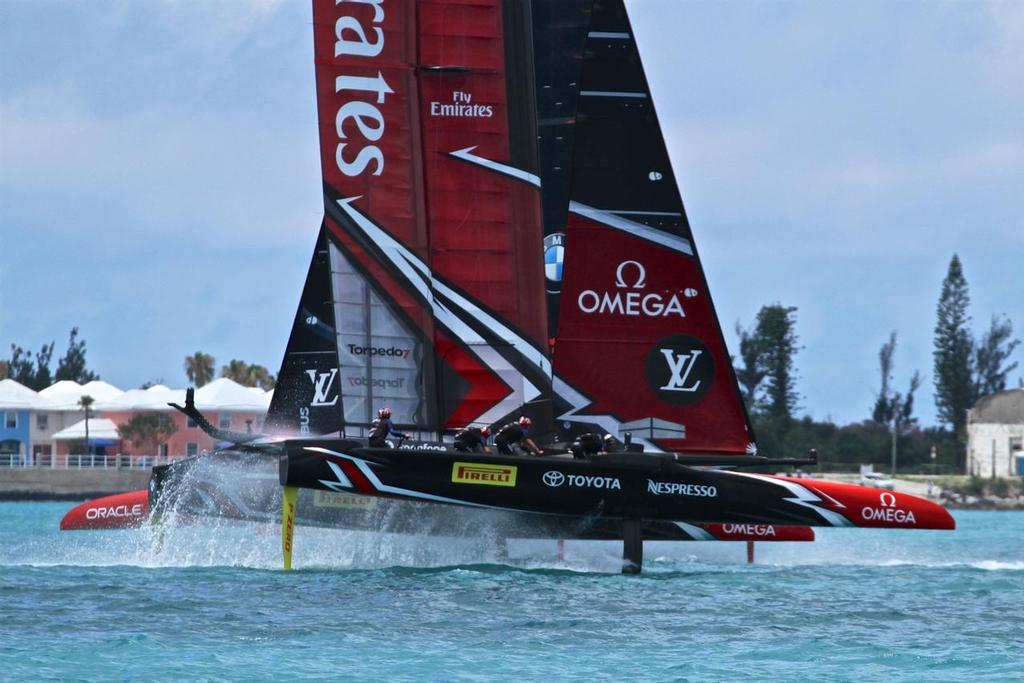 Emirates Team New Zealand - Match, Day  5 - Race 9 - 35th America's Cup  - Bermuda  June 26, 2017 © Richard Gladwell www.photosport.co.nz