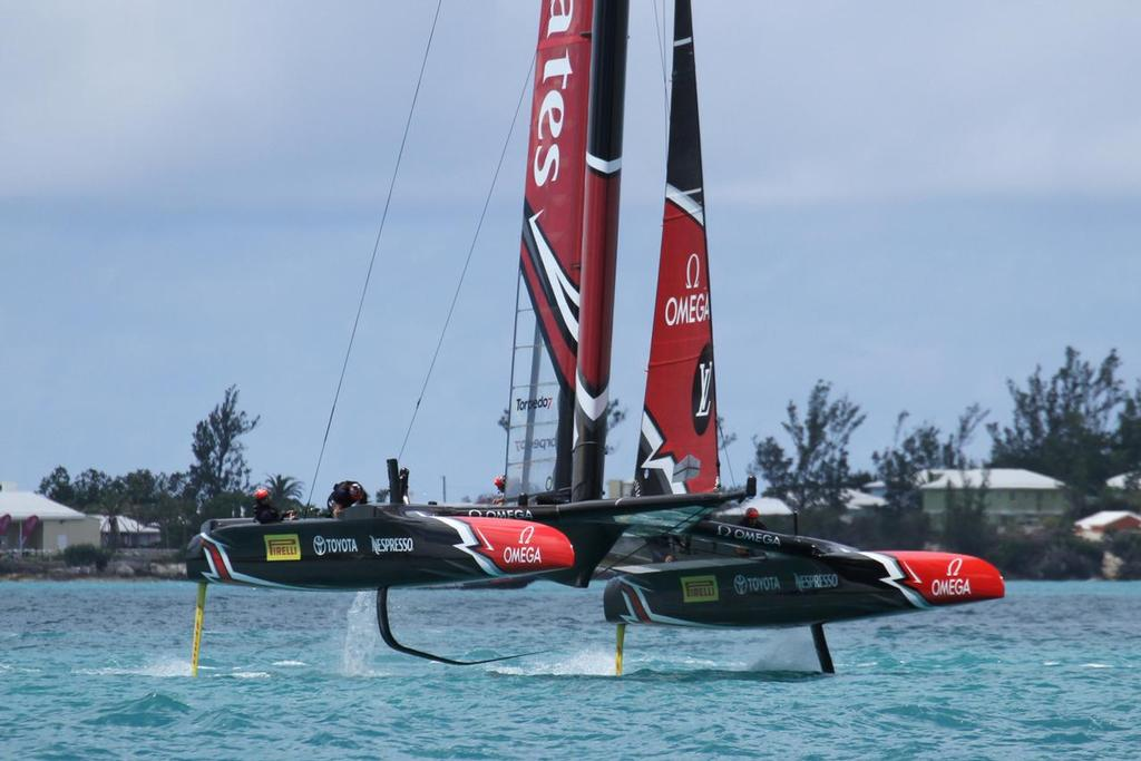 Emirates Team New Zealand - Match, Day  5 - Leg 3 - Race 9 - 35th America's Cup  - Bermuda  June 26, 2017 © Richard Gladwell www.photosport.co.nz