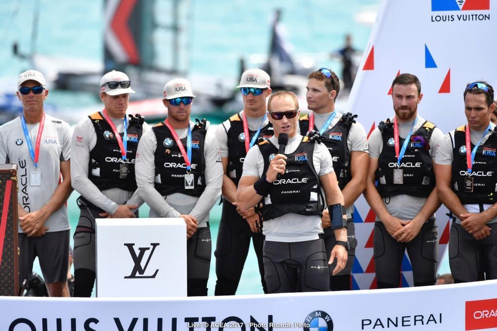 26/06/2017 - Bermuda (BDA) - 35th America's Cup 2017 - 35th America's Cup Match Presented by Louis Vuitton - © ACEA 2017 / Photo Ricardo Pinto © ACEA / Ricardo Pinto http://photo.americascup.com/