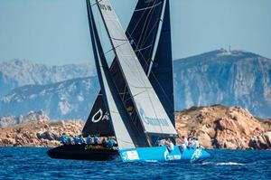 Peninsula Petroleum and Bronenosec Sailing Team - Porto Cervo 2015 – RC44 Championship photo copyright  Martinez Studio / RC44 Class taken at  and featuring the  class