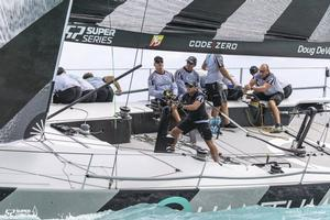 Doug DeVos is back at the helm, as seen here in Key West – 52 Super Series Audi Sailing Week photo copyright 52 Super Series taken at  and featuring the  class
