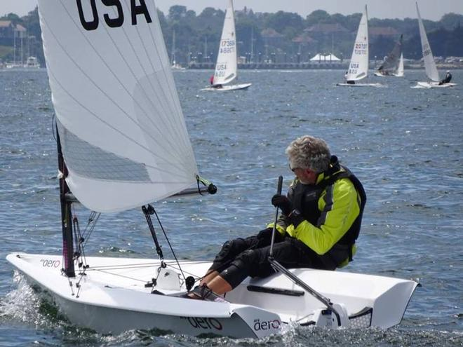 Ash Beatty from Texas – RS Aero North American Championship © RS Aero North American Class Association