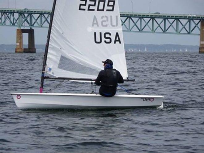 JC Raby from California – RS Aero North American Championship © RS Aero North American Class Association