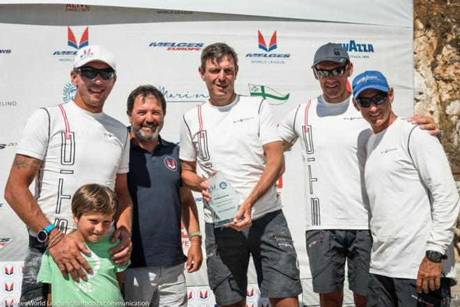 Alessandro Rombelli, STIG/OPENJOBMETIS - 2017 Melges 20 European Championship ©  Barracuda Communication / Melges World League