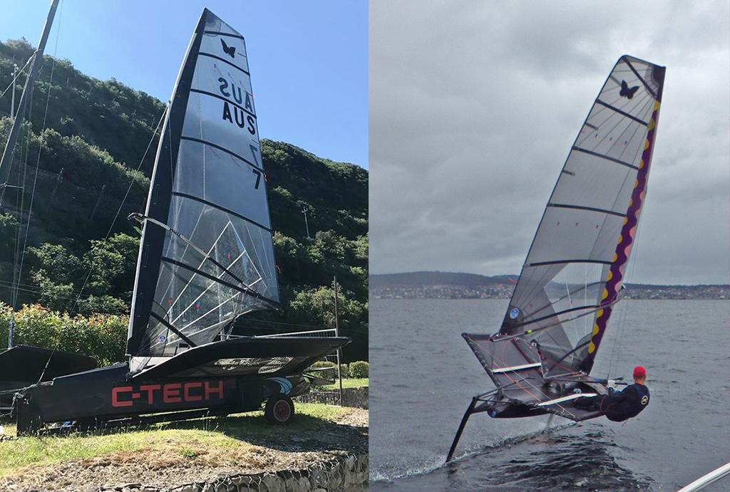 Rob Goughs Wishbone Rig will turn heads - Rob Gough - © C-TECH http://www.c-tech.co.nz