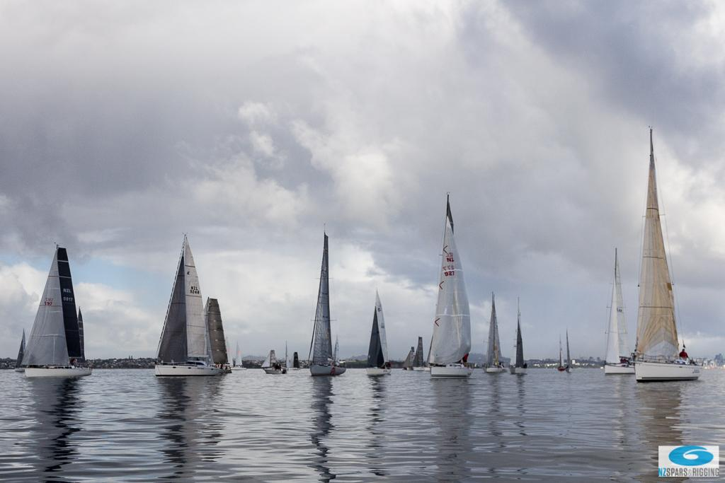 Fleet drifting along - SSANZ NZ Rigging 60 © Deb Williams