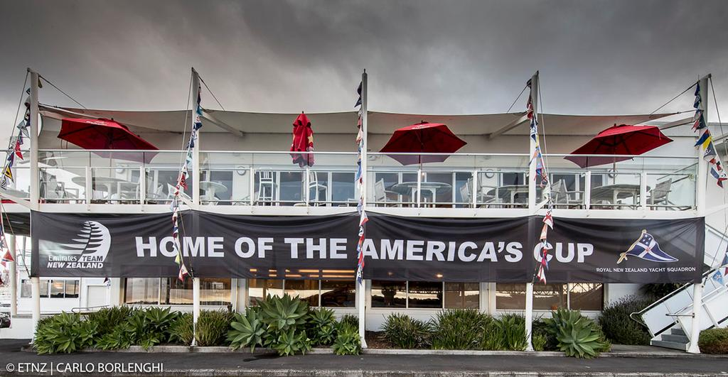 Royal New Zealand Yacht Squadron - The new home of the America's Cup - photo © ETNZ/Carlo Borlenghi