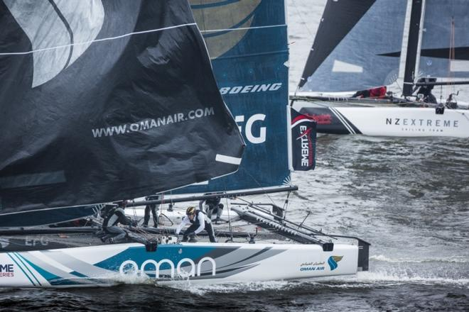 Day 3 – Extreme Sailing Series, Act 5 © Lloyd Images http://lloydimagesgallery.photoshelter.com/