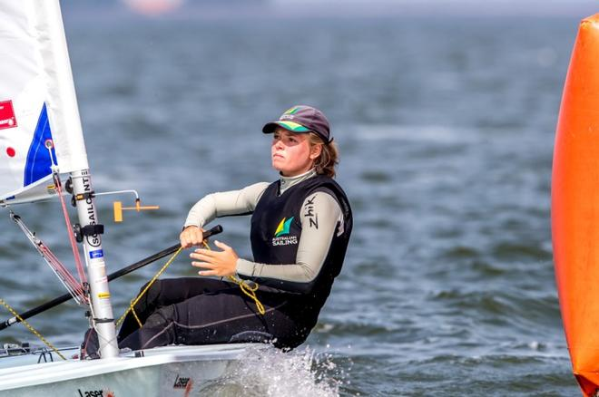 Day 2 – Laser Radial World Championships ©  Thom Touw Photography