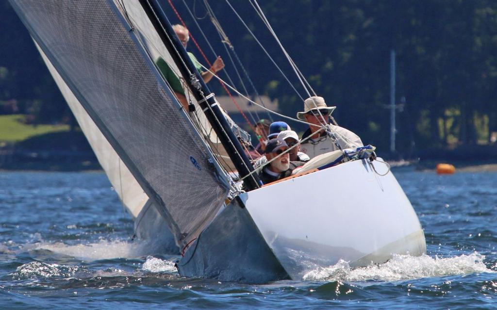 When it comes to aesthetics, the Six Metre class is hard to beat! © Dana E. Olsen
