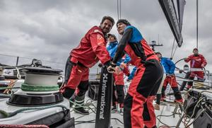 Team AkzoNobel – Volvo Ocean Race photo copyright  Konrad Frost / Volvo Ocean Race taken at  and featuring the  class