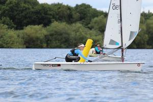 SpeedSix RS Aero UK Youth Nationals at Burghfield SC photo copyright  Steve Greenwood taken at  and featuring the  class