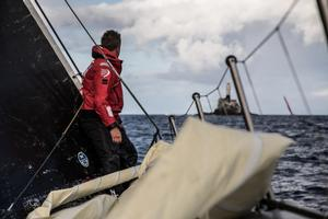 SHK Scallywag – Volvo Ocean Race photo copyright  Konrad Frost / Volvo Ocean Race taken at  and featuring the  class
