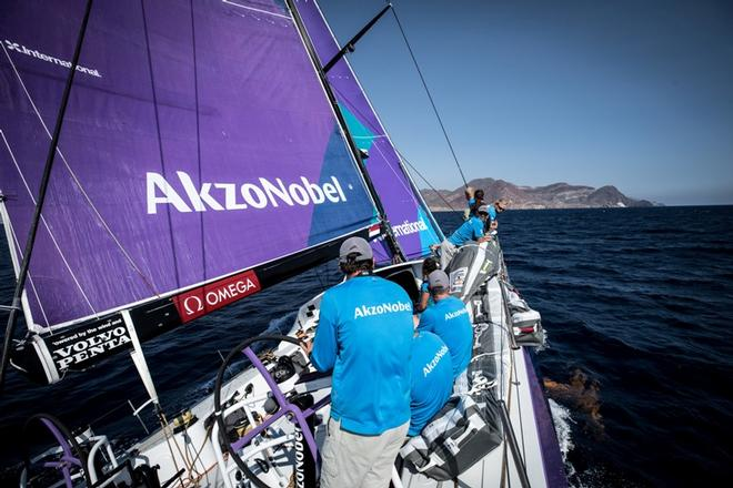 Leg Zero, Prologue, on-board AkzoNobel – Volvo Ocean Race ©  James Blake / Volvo Ocean Race