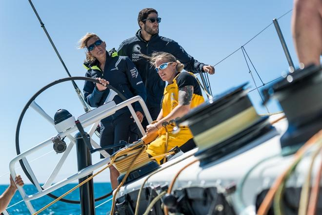 Leg Zero, Turn The Tide in Cascais – Corporative Sailing and Inshore training – Volvo Ocean Race ©  Ugo Fonolla / Volvo Ocean Race