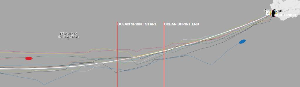 Day 16, Race 2 – Current positions – Clipper Round the World Yacht Race © Clipper Ventures