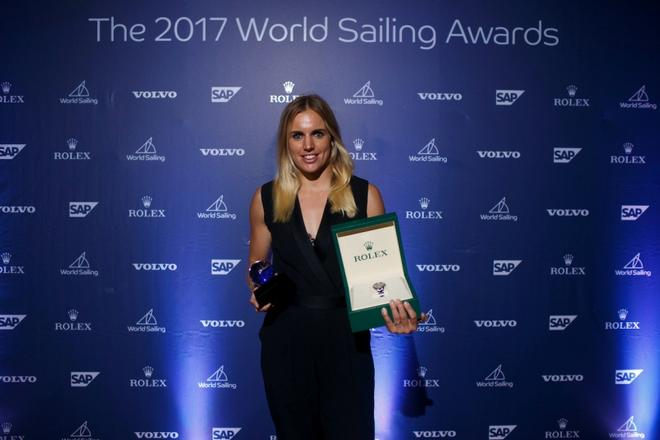 Marit Bouwmeester wins female Rolex WSOY © World Sailing