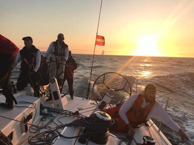 Twilight on Obsession - Roland Smith Ocean Race 2017 © Obsession Racing